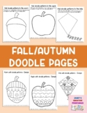 Fall/Autumn Doodle Pages