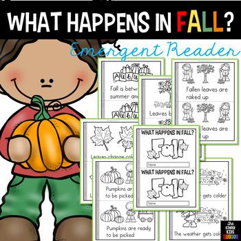 Fall (Autumn) Emergent Reader