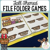 Fall / Autumn File Folder Games - Perfect for Morning Work, Centers, & More!