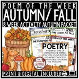Fall Poem of the Week - Poetry Reading Comprehension Passa