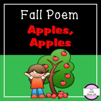 Fall / Autumn Freebie Apples, Apples Poem