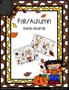 Fall/Autumn {Game Boards}