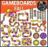 Fall/Autumn Gameboard Clip Art Set {Educlips Clipart}