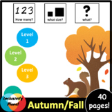 Fall/Autumn HOW MANY, WHAT SIZE, WHAT? Adapted book Level