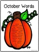 Fall Autumn Halloween Thanksgiving NO PREP worksheets and