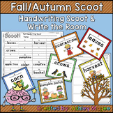 Fall/Autumn Handwriting Scoot or Write the Room