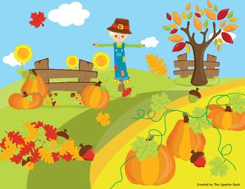 Fall/Autumn Language Building Activity