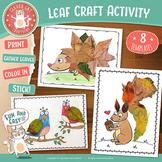 Fall Leaf Craft Activity