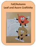 Fall/Autumn Leaf and Acorn Craftivity