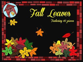 Fall Autumn Leaves Clip Art
