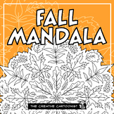 Fall/Autumn Mandala