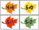 Fall/Autumn Math Centers for PreK and Kindergarten