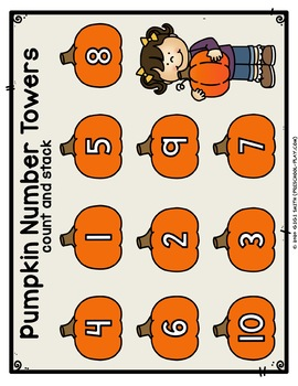 Fall/Autumn Math and Literacy Activities