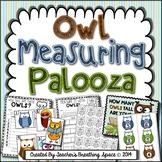 Autumn / Fall Measuring --- Owl Measuring Palooza Math Centers