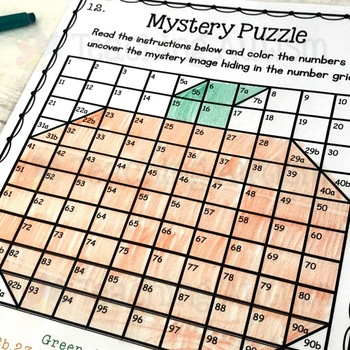 Autumn / Fall Mystery Puzzles