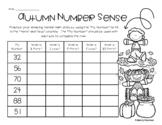 Fall / Autumn Number Sense Mental Math: 1 More, 1 Less, 5