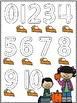 Fall/Autumn Number Tracing