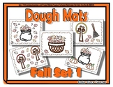 Fall / Autumn Object Dough Mats - Perfect for Back to School