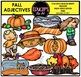 Fall/Autumn - Parts Of Speech Clip Art Big Bundle {Educlips Clipart}