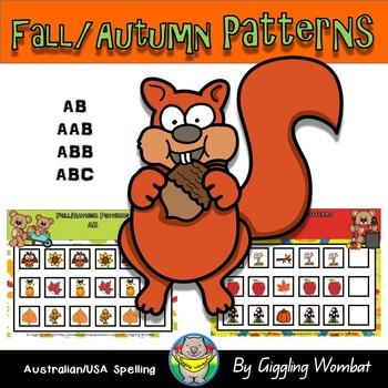 Fall Autumn Pattern Mats