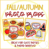 Fall/Autumn Photo Booth Props