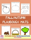 Fall/Autumn Playdough Mats