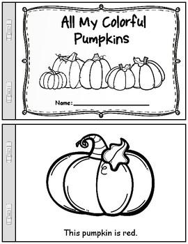 Fall/Autumn Pumpkin Patch Theme Unit: Worksheets & Activities