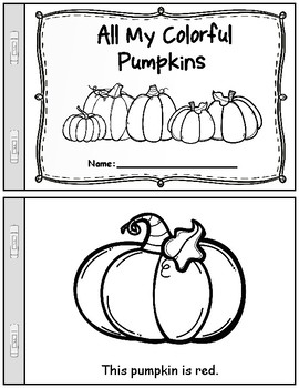 Fall/Autumn Pumpkin Patch Theme Unit: Worksheets & Activities