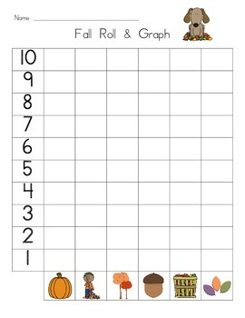 Fall/Autumn Roll and Graph