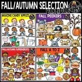 Fall/Autumn Selection Clip Art Bundle {Educlips Clipart}