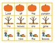 Sight Word Sentence Scramble Cards and Cut and Paste Worksheets: Fall / Autumn
