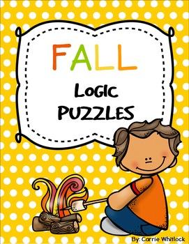 Fall / Autumn Themed Logic Puzzles