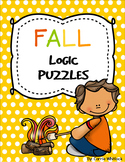 Fall / Autumn Themed Logic Puzzles