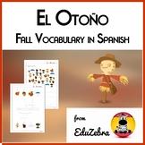 Fall / Autumn Vocabulary in Spanish - El Otoño