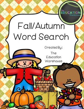 Fall/Autumn Word Search