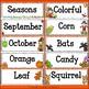 Fall / Autumn - Word Wall
