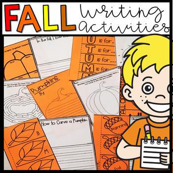 Fall/Autumn Writing Activities