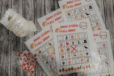 Fall Autumn bingo / loteria otoñal otoño bilingue