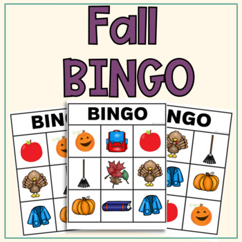 Fall BINGO: Language Based Game