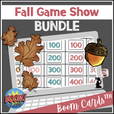 Fall BOOM Cards™ BUNDLE - Game Shows for Pre-K & Elementary Language