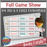Fall BOOM Cards™ - Game Show for Pre-K and Early Elementary