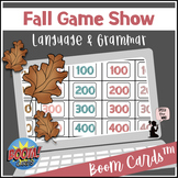 #boomdollardeals Fall BOOM Cards™ - Language & Grammar- Game Show for Elementary