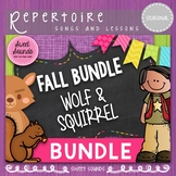 Fall BUNDLE: We are Dancing in the Forest + Let Us Chase the Squirrel