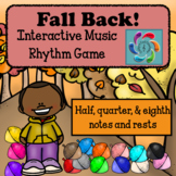 Fall Back! Interactive Music Rhythm Review Game for Google