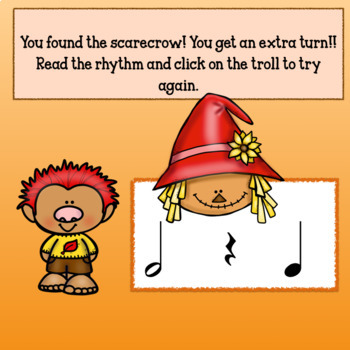 Interactive Music Game (Rhythm) for Google & PDF Half Note Fall Back!