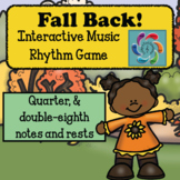 Fall Back!Interactive Music Rhythm Review Game-for Google