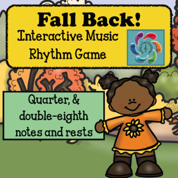 Interactive Music Rhythm Game  Fall Back Quarter & Eighth Notes version