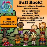 Interactive Music Rhythm Game Fall Back! Bundle