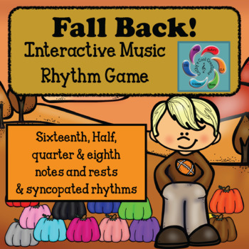 Fall Back! Interactive Music Rhythm Review Game for Google & Adobe-Syncopated