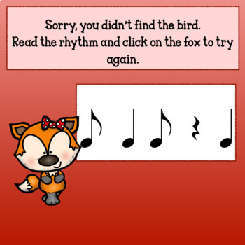 Interactive Music Game-(Rhythm) for Google Slides & PDF-Syncopated Fall Back!